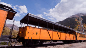 Narrow Gauge Train Stock Image
