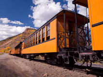 Narrow Gauge Train Stock Photography