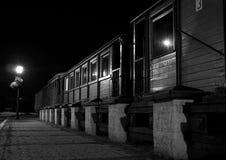 Narrow gauge train stock photography