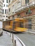 Narrow Genoa street. Royalty Free Stock Images