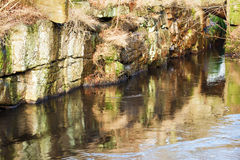Narrow gorge Royalty Free Stock Photo