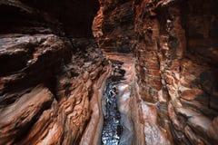 Narrow gorge in West Australia Stock Image