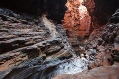 Narrow gorge in West Australia Stock Photography