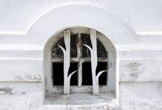 Narrow grating window Stock Image
