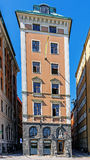 Narrow house on Gamla stan Stock Images