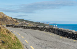 Narrow Irish Roads Stock Images