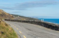 Narrow Irish Roads Stock Images