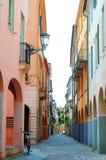 Narrow Italian street Stock Photo