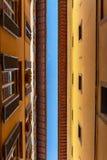 Narrow italian street Royalty Free Stock Photos