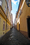 Narrow lane Stock Photography