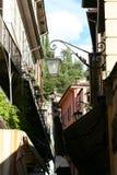 Narrow Lane in Italy Royalty Free Stock Photos