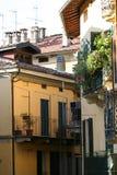 Narrow Lane in Italy Royalty Free Stock Photography