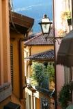Narrow Lane in Italy Royalty Free Stock Image
