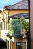 Narrow Lane in Italy Stock Photo