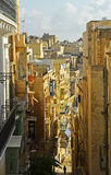 Narrow lane on Malta Royalty Free Stock Photos