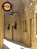 Narrow Medieval Alley Stock Photography