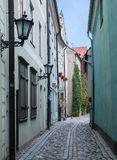 Narrow medieval street Stock Photography