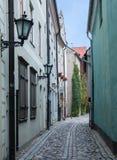 Narrow medieval street Stock Photography