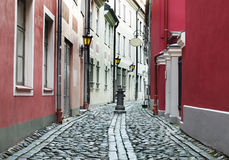 Narrow medieval street Royalty Free Stock Photography