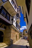 Narrow passage alleys, Ohrid Royalty Free Stock Photos