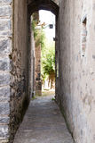 Narrow passage Royalty Free Stock Images
