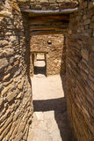 Narrow Passages at Chaco Canyon Royalty Free Stock Image