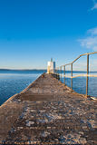 Narrow pier Stock Photos