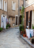 Narrow provencal alley Royalty Free Stock Photography