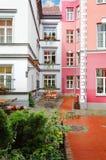 Narrow Riga street Royalty Free Stock Image