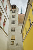 Narrow Riga street Royalty Free Stock Image