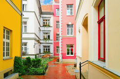 Narrow Riga Street Stock Photo