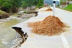 Narrow road Stock Image