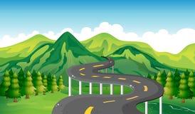 A narrow road Royalty Free Stock Photo