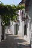 Narrow road to Grazalema-El Bosque-Benaojan Andalusia (Spain). Photo made in Grazalema-El Bosque-Benaojan Andalusia (Spain). The picture shows a typical narrow Royalty Free Stock Photo