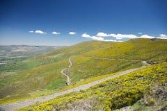 Narrow rural roadway at Gredos Royalty Free Stock Photos