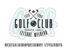 Golf Lettering Royalty Free Stock Photos Image 27929268