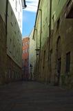 Narrow spanish street Royalty Free Stock Images