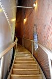 Narrow Staircase Royalty Free Stock Photos