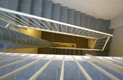 The narrow stairway Royalty Free Stock Photos
