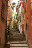 Narrow stairway Royalty Free Stock Image