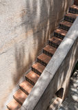 Narrow stairway, Tlaquepaque in Sedona, Arizona Royalty Free Stock Photos