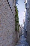Narrow Stone Street Stock Photos