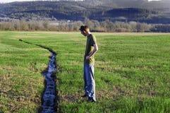 Narrow Stream Stock Images