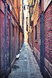 Narrow street Royalty Free Stock Image