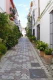 Narrow street Royalty Free Stock Photo