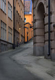 Narrow street Royalty Free Stock Photo