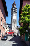 Ascona in the Italian Switzerland Stock Photo