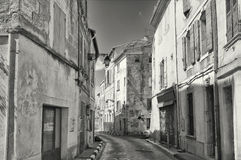 Narrow Street, Avignon France Royalty Free Stock Photo