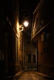 Narrow Street in Brasov Royalty Free Stock Photos