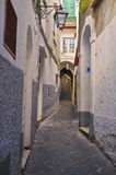 Narrow Street, Capri Town, Italy Stock Images